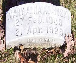 Mary Anna Adamski