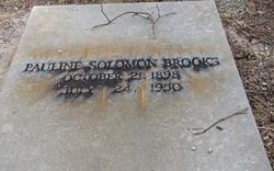 Pauline <i>Solomon</i> Brooks