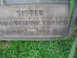 Anna <i>Wehling</i> Frosch