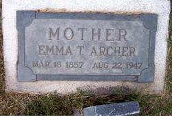 Emma <i>Titmus</i> Archer
