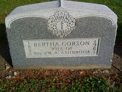 Bertha <i>Corson</i> Ashbrook