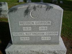 Rachel <i>Nottingham</i> Corson