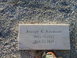 JOSEPH L ADAMSON