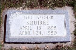 Louie Belle Lou <i>Archer</i> Squires
