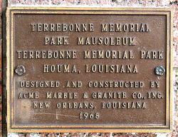 Terrebonne Memorial Park