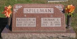 Kathleen M <i>Barger</i> Spillman