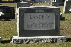 Elizabeth Annie Martin Landers