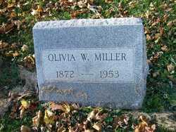 Olivia W. <i>Aikens</i> Miller