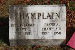 Frank A Champlain