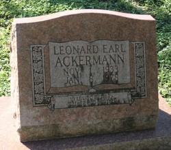 Leonard Earl Ackermann