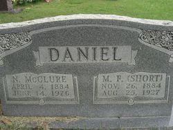 Nancy McClure <i>McInturff</i> Daniel