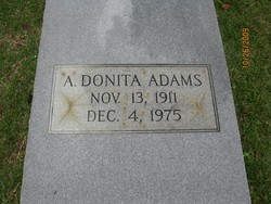 A Donita Adams