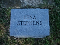 Lena E <i>Webb</i> Stephens