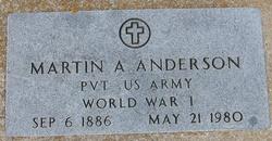 Martin Alfred Anderson