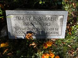 Mary Elizabeth <i>Simpkins</i> Barker