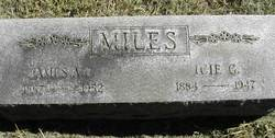 James Alexander Cowgill Miles