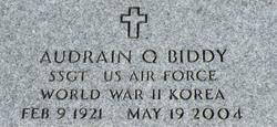 Audrain Q. Biddy