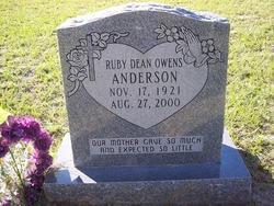 Ruby Dean <i>Owens</i> Anderson