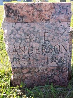 A. E. Anderson
