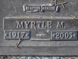 Myrtle Mildred <i>Canary</i> Ericson