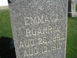 Emma Agnes <i>Strohacker</i> Roahrig