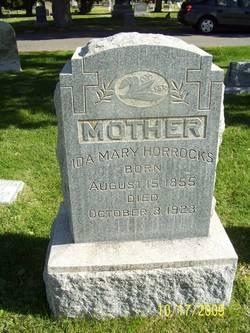 Ida Mary <i>Johnson</i> Horrocks