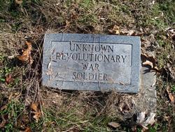 Revolutionary Soldier Unknown