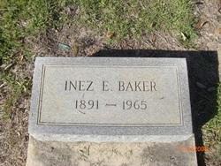 Inez E Baker