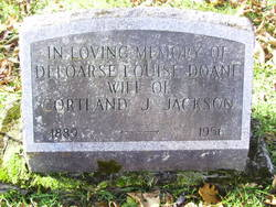 Deloarse Louise <i>Doane</i> Jackson