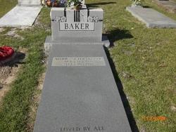 Marie SISTER Baker