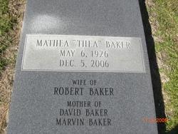 Mathea THEA Baker