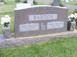 Thomas Singleton Barton