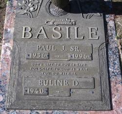 Paul J Basile, Sr