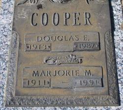 Marjorie M Cooper