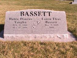 Hulda Dimrus <i>Vaughn</i> Bassett
