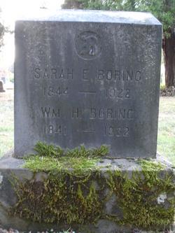 Sarah E Boring