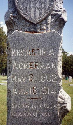 Artie A. <i>Smith</i> Ackerman