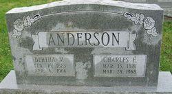 Bertha M <i>Cornell</i> Anderson