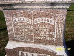 Sarah E. <i>Bartlett</i> Allee