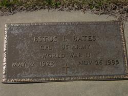 Estus L Bates