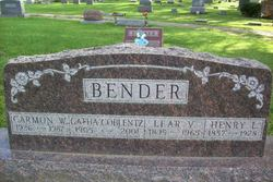 Gatha <i>Coblentz</i> Bender