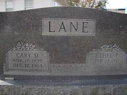 Ethel Pearl <i>Pugh</i> Lane