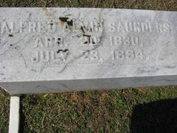 Alfred Alvin Saunders