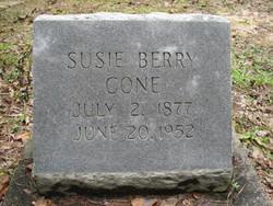 Susie <i>Berry</i> Cone