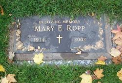 Mary Elizabeth <i>Wilder</i> Ropp