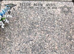 Bessie <i>Blum</i> Antis