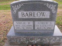 Virgie H <i>Mangrum</i> Barlow