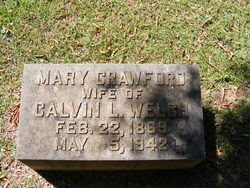 Mary Mamie <i>Crawford</i> Welch