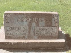 Thelma Bell <i>Hedrick</i> Asbridge