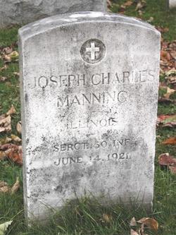 Sgt Joseph Charles Manning
